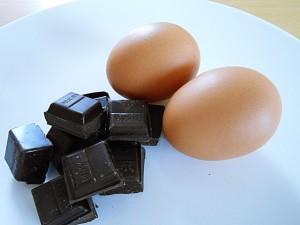 chocolate-mousse-ingredients kipkitchen.com #chocolate #mousse #dessert #recipe #DairyFree