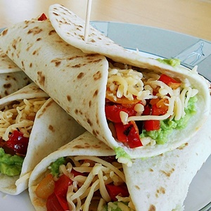 Tortillas Recipe (No Lard). How to Make Tortillas Wraps for Two Easily