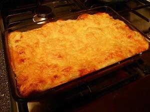 vegetarian-lasagna-aubergines-baked kipkitchen.com #vegetarian #lasagna #WhiteSauce #recipe #dinner