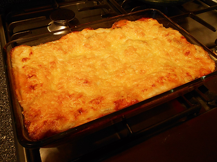Vegetarian Lasagna kipkitchen.com #vegetarian #lasagna #recipe #dinner
