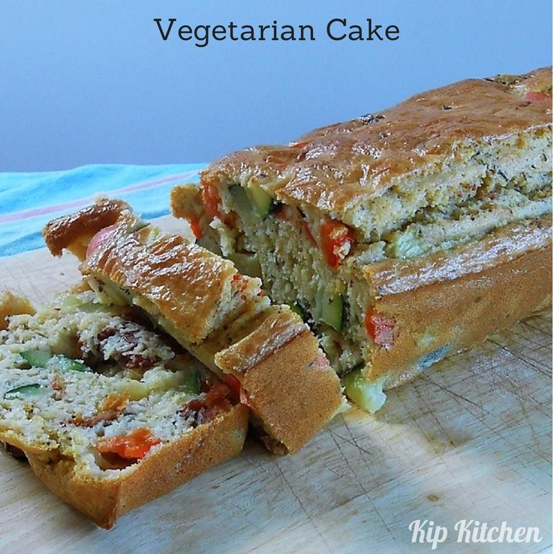 Vegetarian Cake Recipe. How to Make a Vegetarian Cake