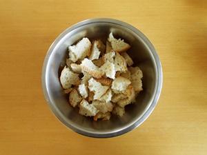 Easy Bread Pudding Recipe Step 1a | kipkitchen.com | #bread #dessert #recipe