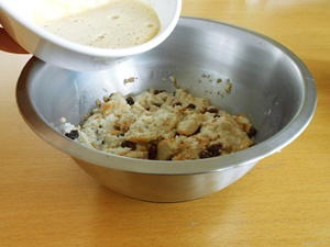 Easy Bread Pudding Recipe Step 2b | kipkitchen.com | #bread #dessert #recipe