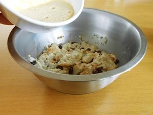 Easy Bread Pudding Recipe Step 2b | kipkitchen.com | #bread #dessert #recipe
