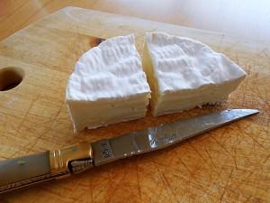 Deep Fried Camembert Cheese--Cut   kipkitchen.com   #camembert #cheese #delicious #recipe
