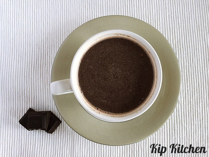 Homemade Hot Chocolate Recipe | kipkitchen.com | #homemade #chocolate #recipe