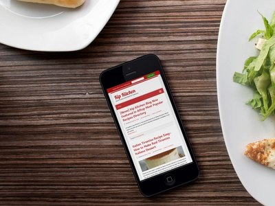 Read Kip Kitchen on iPhone