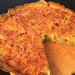French Quiche with Leeks - Result | kipkitchen.com