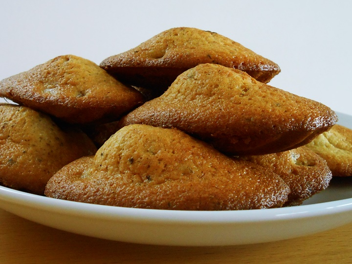 Madeleine Cookie Recipe | kipkitchen.com #recipe #food #chocolate #paris