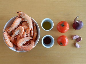 Shrimp Stiry Fry Ingredients|kipkitchen.com #shrimp #stirfry #hotsauce #recipe #dinner