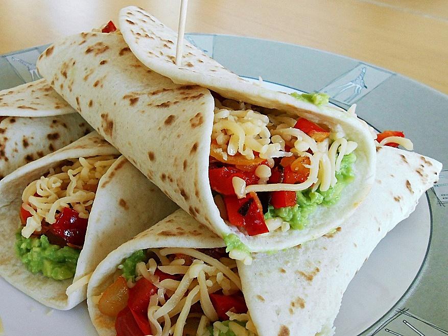 Vegetarian Tortillas kipkitchen.com #vegetarian #tortillas #recipe #dinner