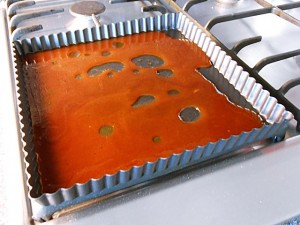 Apple pie: Caramelization kipkitchen.com #ApplePie #recipe #desserts