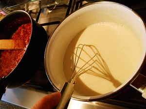 vegetarian-lasagna-4 kipkitchen.com #vegetarian #lasagna #WhiteSauce #recipe #dinner