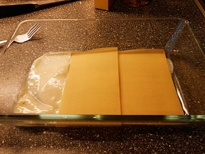 vegetarian lasagna-layer2 kipkitchen.com #vegetarian #lasagna #WhiteSauce #recipe #dinner