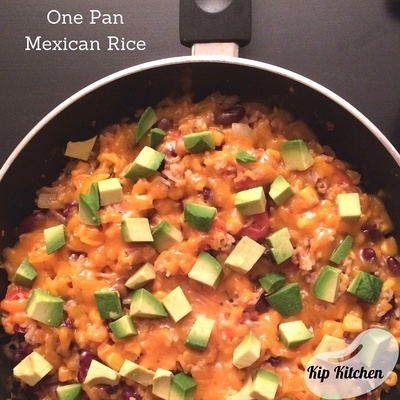 One Pan Mexican Rice | kipkitchen.com
