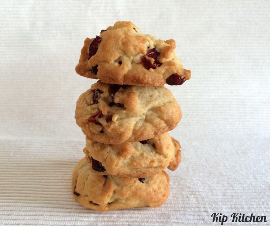 Cranberry Cookies Result | kipkitchen.com | #baking #cookies #recipe