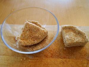 Deep Fried Camembert Cheese--Dip in Breadcrumbs | kipkitchen.com | #camembert #cheese #delicious #recipe