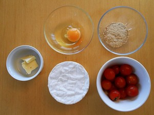 Deep Fried Camembert Cheese Ingredients | kipkitchen.com | #camembert #cheese #delicious #recipe