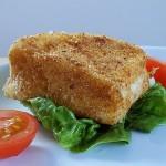 Deep Fried Camembert Recipe | kipkitchen.com | #camembert #cheese #recipe