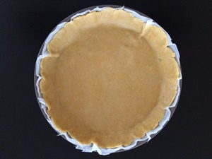 French Quiche with Leeks - Crust | kipkitchen.com