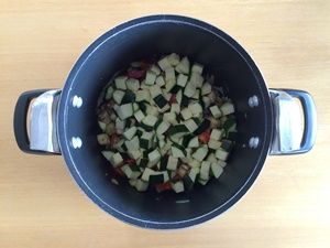 How to Make Ratatouille Step 4 | kipkitchen.com | #healthy #recipe #vegan