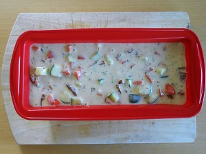 Vegetarian Cake-Put into oven kipkitchen.com #vegetarian #cake #healthy